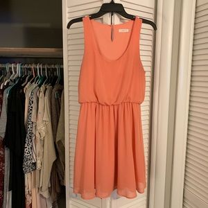 Salmon pink dress (Size M), Lush - Nordstrom